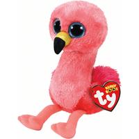 Ty Beanie Boo 15cm Soft Toy - Gilda Flamingo - Beanie Gifts