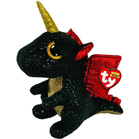 Ty Beanie Boo 15cm Soft Toy - Grindal The Uni-Dragon