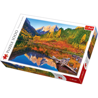 Maroon Lake, Aspen Colorado Jigsaw Puzzle - 1000 Pieces - Jigsaw Puzzle Gifts