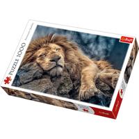Trefl Sleeping Lion Jigsaw Puzzle - 1000 Pieces - Jigsaw Puzzle Gifts