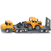 Click to view product details and reviews for 1616 Low Loader Truck With Front Loader Vehicles.