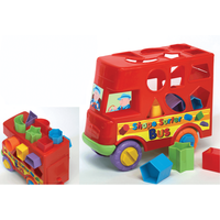 Fun Time Shape Sorter Bus - Fun Gifts