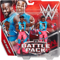WWE Battle Pack The New Day Action Figures - Wwe Gifts