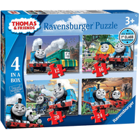Ravensburger 4 in a Box Puzzles - Thomas and Friends - Puzzles Gifts