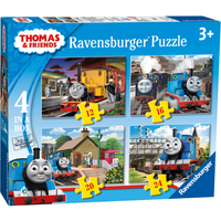 Ravensburger 4 in Box Puzzles - Thomas & Friends - Puzzles Gifts