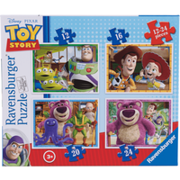 Ravensburger 4 in a Box Puzzles - Toy Story - Puzzles Gifts