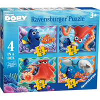 Ravensburger 4 in a Box Puzzles - Finding Dory - Puzzles Gifts