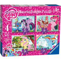 Ravensburger 4 in a Box Puzzles - My Little Pony - Puzzles Gifts
