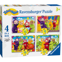 Ravensburger 4 in a Box Puzzles - Teletubbies - Puzzles Gifts