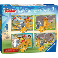 Ravensburger Disney The Lion Guard 4 in a Box Puzzle - Ravensburger Gifts