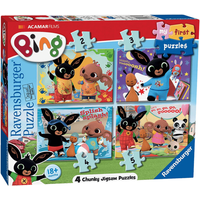 Ravensburger 4 in a Box Puzzles - Bing Bunny - Puzzles Gifts