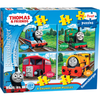 Ravensburger 4 in a Box Chunky Jigsaw Puzzles - Thomas the Tank Engine - Thomas The Tank Engine Gifts