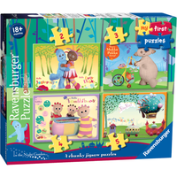 Ravensburger 4 in a Box Chunky Jigsaw Puzzles - In The Night Garden - Ravensburger Gifts