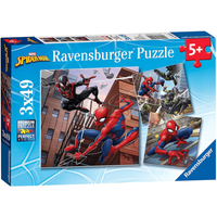 Ravensburger 4 in a Box Puzzles - Marvel Spider-Man - Puzzles Gifts
