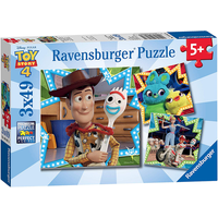 Ravensburger 3 in a Box Puzzles - Toy Story 4 - Puzzles Gifts