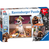 Ravensburger The Secret Life of Pets 3 x 49 Piece Puzzles - Puzzles Gifts