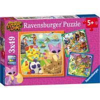 Ravensburger Animal Jam 3 x 49 Piece Puzzles - Puzzles Gifts