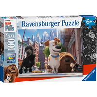 Ravensburger The Secret Life of Pets XXL Puzzle - 100 Pieces - Ravensburger Gifts