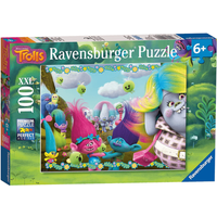 Ravensburger DreamWorks Trolls XXL Jigsaw Puzzle - 100 Pieces - Trolls Gifts