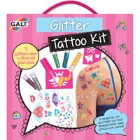 James Galt Glitter Tattoo Kit - Galt Gifts