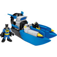 Fisher-Price Imaginext DC Super Friends - Batman with Bat Boat - Fisher Price Gifts