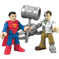 Fisher-Price Imaginext DC Super Friends - Superman & Mettalo - Fisher Price Gifts