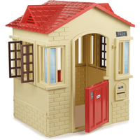 Little Tikes Cape Cottage - Tan/Red Playhouse - Playhouse Gifts