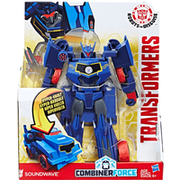 Transformers Robots in Disguise Combiner Force 3-Step ChangerSoundwave