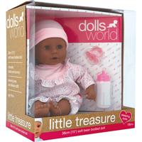 Dolls World Little Treasure 38cm Ethnic Doll