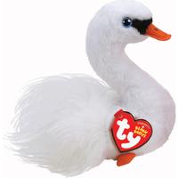 Ty Beanie Babies 15cm Soft Toy - Gracie The Swan