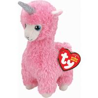 Ty Beanie Babies 15cm Soft Toy - Lana The Pink Llama