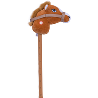 Pitter Patter Pets Giddy Up Hobby Horse - Brown - Pets Gifts