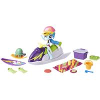 My Little Pony Equestria Girls Mini Doll - Rainbow Dash Sporty Beach Set