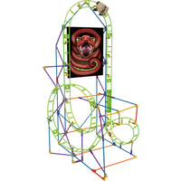 KNex Cobras Coil Roller Coaster Building Set - Knex Gifts