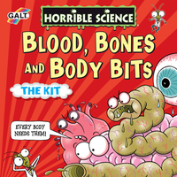 Horrible Science Blood, Bones and Body Bits Set - Science Gifts