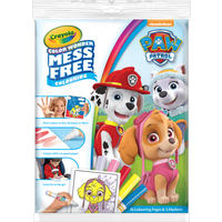 Crayola Mess Free Paw Patrol Colouring Pages - Crayola Gifts
