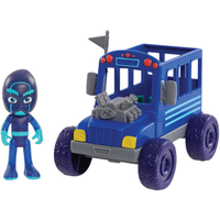 PJ Masks Vehicle and Figure - Night Ninja Bus - Ninja Gifts