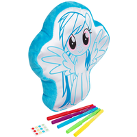 My Little Pony Colour Your Own Cushion - Rainbow Dash - My Little Pony Gifts