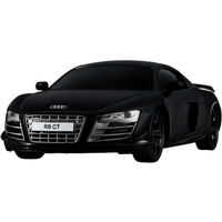 1:24 Remote Control Car - Black Audi R8 GT - Remote Control Gifts