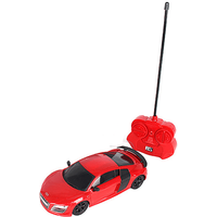 1:24 Remote Control Car - Red Audi R8 GT - Remote Control Gifts