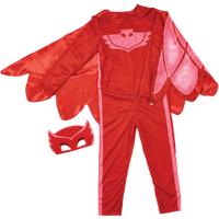 PJ Masks Owlette Hero Dress Up Costume (4-6 Years)