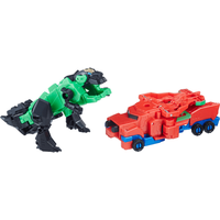 Transformers Robots in Disguise Combiner Force Crash Combiners - Grimlock and Optimus Prime - Transformers Gifts