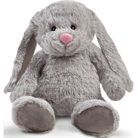 Snuggle Buddies 32cm Friendship Bunny- Nox (Grey) - Friendship Gifts