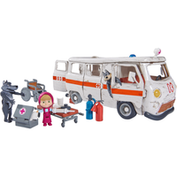 Masha and The Bear Ambulance Playset