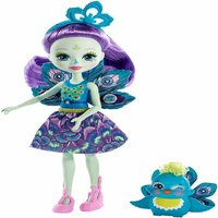 Enchantimals 15cm Doll - Patter Peacock and Flap - Peacock Gifts