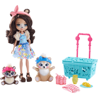 Enchantimals Paws for a Picnic Doll Set - Picnic Gifts