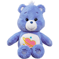Care Bear Medium Plush With DVD - Day Dream Bear - Dvd Gifts