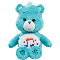 Care Bear Medium Plush With DVD - Heartsong Bear - Dvd Gifts