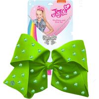 JoJo Siwa 20cm Signature Rhinestone Bow And Necklace Set - Green
