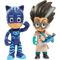 PJ Masks Light Up Figures Catboy and Romeo